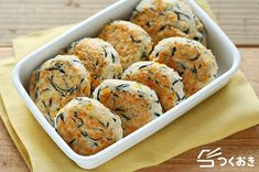 Japanese Dishes, Japanese Food, Some Recipe, Popular Recipes, Bento, Tofu, Main Dishes, Muffin, Lunch Box