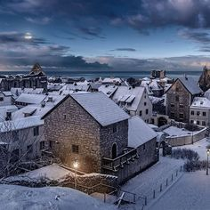 @sweden - Visby in Winter -