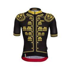 Bolero cycling jersey by Babici. Beautiful performance apparel.