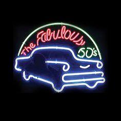 FABULOUS 50'S NEON SIGN