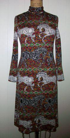 Gorgeous vintage Goldworm dress via eBay -bidding got too high for me : (