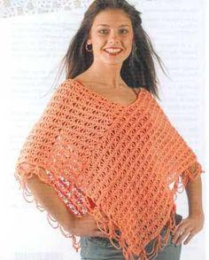 Free Crochet Patterns Plus Size Ponchos : Crochet Poncho Free Pattern All The Best Ideas Crochet ...