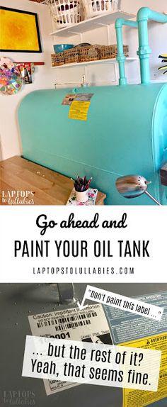 12 amazing renovations images fuel oil heating oil tanks rh pinterest com