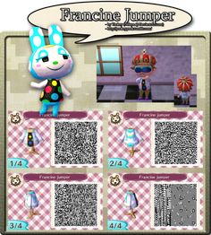 Francine Jumper - QR Code by Nelaya on deviantART