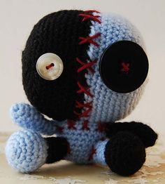 Kitsch Evil Cute Crochet Monster Amigurumi Iklesik Doll