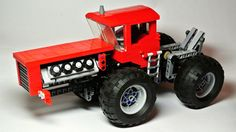 Massive Articulated Tractor | My own Lego Technic Creation. … | Flickr - Photo Sharing!