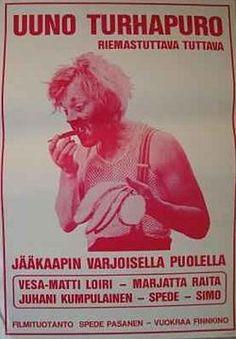 Uuno Turhapuro juliste 1973. Retro Vintage, Movies, Movie Posters, Films, Film Poster, Cinema, Movie, Film, Movie Quotes