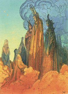 Moebius' (Jean Giraud) Illustrations for Dante's The Divine Comedy, 1999 Jean Giraud, Dante Alighieri, Illustrations, Illustration Art, Ligne Claire, Bd Comics, Art Graphique, French Artists, Comic Artist