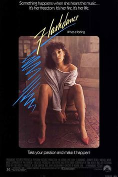 Flashdance Vintage One Sheet Movie Poster A vintage, rolled, one sheet movie poster for the 1983 film Flashdance starring Jennifer Beals, Michael Nouri, Robert Wuhl and Lee Ving. The film was directed by Adrian Lyne. Michael Nouri, Jennifer Beals, Dance Movies, 80s Movies, Great Movies, 1980s Films, Love Movie, Movie Tv, Movies Showing