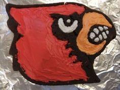 louisville cardinal cake | Louisville Cardinals * / Cardinal Bird Cake