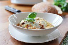 Slow Cooker Eggplant Parmesan Stew