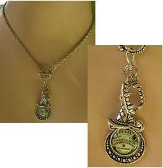 Silver Halloween Themed Charms Necklace New Adjustable Accessories Pendant #handmade #Charm http://www.ebay.com/itm/161440968830?ssPageName=STRK:MESELX:IT&_trksid=p3984.m1555.l2649