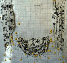 """curtain tutorial~ maybe they will stop looking stiff and """"out-of scale""""..."""