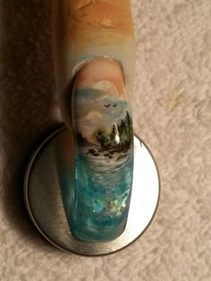 Aquarium nail~scenery by Ivystar