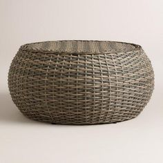 One Of My Favorite Discoveries At WorldMarket.com: All Weather Wicker  Formentera Egg. Outdoor Coffee TablesRound ...