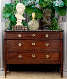 Louis XVI Period Mahogany Chest of Drawers | Jean-Marc Fray Antiques