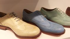 Bertie pastel brogues for a colourful Spring ~ http://www.maketh-the-man.com/2013/02/bertie-pastel-brogues-for-colourful.html