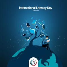 International Literacy Day, Video Studio, Ads Creative, Heartland, Word Art, Art Drawings, Words, Poster, Design