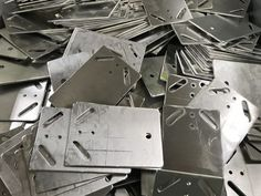 Looking for a company in the UK to manufacture your aluminium plates. We can take you design ideas, drawings, 3D models etc and turn them into reality. Ask us today for a quote on your next sheet metal project. Types Of Sheet Metal, Sheet Metal Work, Cnc Press Brake, Metal Projects, Plate Design, Metal Working, Delicate, Plates, Drawings
