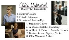 Broadcasting Style: House of Cards' Claire Underwood