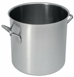 Sitram Catering 11.6-Quart Commercial Stainless Steel Stockpot by Sitram. $165.95. Ideal for cooking stocks and soups. Dishwasher-, oven-, and broiler-safe. Made of heavy commercial-weight stainless steel with sandwiched copper bottom. Limited lifetime warranty; made in France. 11.6-quart pot, large enough to make soup for 10 (lid not included). Amazon.com                For cooking soups and stews, this heavy-duty Sitram stockpot is a kitchen workhorse. Simple ...