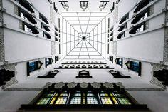 Symmetry: Architectural Photos by Gauvin Lapetoule | Inspiration Grid | Design Inspiration
