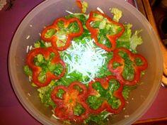 Reddd and green