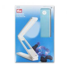 LED Folding lamp - Candeeiro dobrável (muito portátil) mas não tem lupa-  marca PRYM - 38 EUR - loja PERLES AND CO