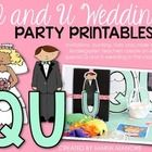 """Teach students the spelling pattern of """"qu"""" in an exciting and memorable way... throw a Q and U wedding. This special classroom event is certain to..."""