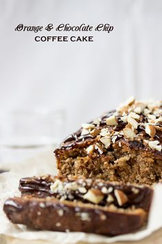 Orange & Chocolate Chip Coffee Cake - Eat Me! I really want to try this one!