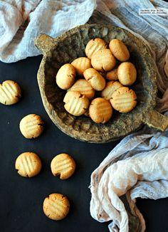 Tahini cookies o galletas de pasta de sésamo. Receta de Yotam...