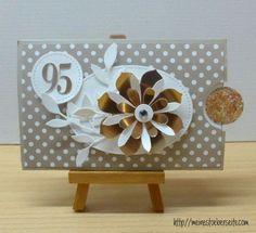 stampin up, card birthday 95th