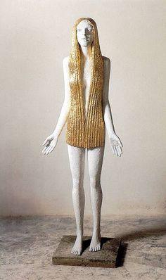IFIGENIE - Olbram Zoubek Architectural Sculpture, The Twenties, Two By Two, Bronze, Dolls, Women, Art, Fashion, Baby Dolls
