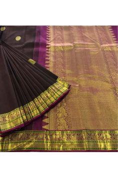 Special Kanjeevaram Silk Saree With a Zari Border Product Code: AC203459 Price: ₹8,750 #Wedding #Kanchipuram #Kanjivaram #Kanjeevaram #Designersarees #Ethnicwear #Exclusivedesign #India # Saree fashion #Sari #Beautiful Saree #wedding #bridalwear #indianwedding #designer #bridal #desi #indianfashion #partywear #ethnic #sarees #onlineshopping Sarees #indianbride #indianwear #Saree love #uk #usa # canada #traditional #gorgeous #bride #elegant