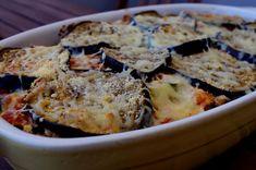 Gratin d'aubergines rôties, à la tomate et ricotta, façon lasagnes végétariennes - KiyaKuisine