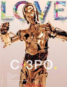 C-3PO covers Love magazine
