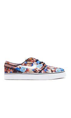 Nike Janoski Premium SB Blue Floral
