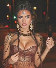 Sophia Miacova :: Lovely Lady of the Day Festival Looks, Festival Mode, Rave Festival, Festival Wear, Festival Outfits, Festival Fashion, Festival Style, Burning Man Style, Burning Man Fashion