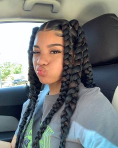 Black Girl Braided Hairstyles, Cute Curly Hairstyles, Baddie Hairstyles, Box Braids Hairstyles, Protective Hairstyles, Girl Hairstyles, Curly Hair Styles, Natural Hair Styles, Girls Natural Hairstyles