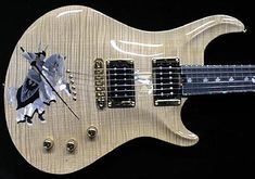 Amazing Inlay. Custom Made Guitars, Hand Made Guitars, USA Custom Made Guitars.