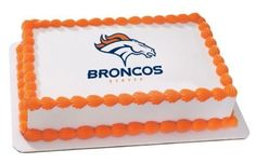 1/4 Sheet ~ NFL Denver Broncos Football Logo ~ Edible Image Cake/Cupcake Topper!!! Quantumchaos Media http://www.amazon.com/dp/B00B29DE42/ref=cm_sw_r_pi_dp_HxUPvb0JZ2SNA