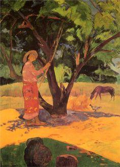 Gauguin. The lemon picker, 1891.