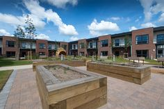 Výsledek obrázku pro modern care home garden