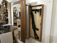 NEW: QLine Design 'Essentials' Concealment Furniture - Hidden Gun Cabinets, Hidden Gun Storage, Hidden Compartments, Secret Compartment, Secret Space, Diy House Projects, Essentials, Patio Design, Deco