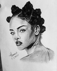 Rihanna art Awesome
