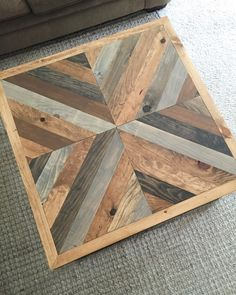 DIY West Elm Alexa inspired coffee table