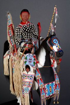 Rock Comes Alive Rhonda Holy Bear Lakota Doll/ Figure Artist