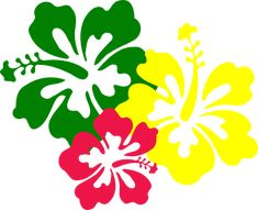 hawaiian aloha tropical flower pinterest hawaiian moana and rh pinterest com images of cartoon hawaiian flowers Cartoon Drawings of Flowers