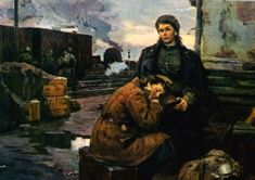 V. Artamonov. On the War Roads
