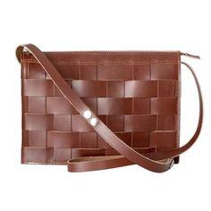 Small Leather Shoulder Bag Brick